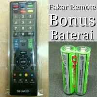 REMOT/REMOTE TV SHARP LCD LED AQUOS/TABUNG