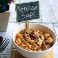 Makanan SiapSaji ANEKA SEBLAK SPESIAL TETELAN SAPI 4 PACK Khas Bandung