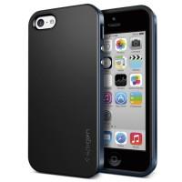 SPIGEN iPhone 5c Case Neo Hybrid - Metal Slate