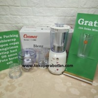 (Bonus 1pc Gelas) Blender Cosmos 4in1 CB-802 / Chopper / Juicer