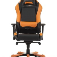 GAMING CHAIR DXRACER IRON SERIES BLACK/ORANGE (OH/IS11/NO)