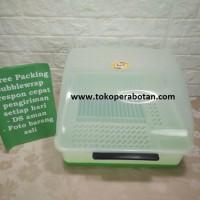 Rak Piring Plastik + Tutup Nagata