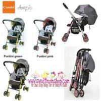 Stroller Combi Ampio Pink / Green