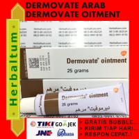 Dermovate Ointment / Dermovate Coklat / Asli Arab - Ada Barcode