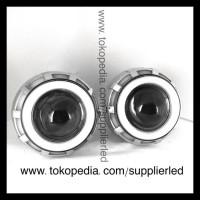 Best Price! Lampu Led Projie Motor Dual Headlight, Double Ae + De