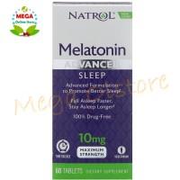 Natrol Melatonin Advanced Sleep Time Release 10 mg - 60 Tablets