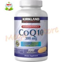 Kirkland Signature CoQ10 300 mg - 100 Softgels Kirkland Coq10