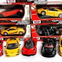 terbatas Lamborghini Murcielago Roadster Motormax 1 : 43