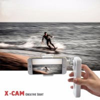 X-Cam Sight 2 Portable Smartphone Gimbal Stabilizer 2 Axis Bluetooth