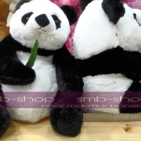 Jual Boneka anak panda pegang daun rasfur Lucu ^^ Murah