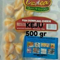 29 fish dumpling cheese