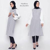 Nadhifa baju menyusui hamil tunik kerja kantor formal