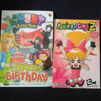 Buku Komik warna 2 buku untuk anak anak