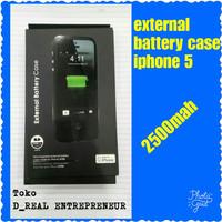 power bank case external battery baterai iphone 5 5G 5S 5SE