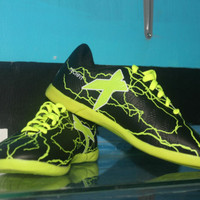 Sepatu futsal Adidas X Grade Original hitam hijau