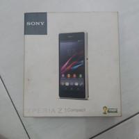 Dus HP Kotak Handphone Sony Xperia Z1 Compact