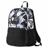 PUMA ACADEMY BACKPACK BLACK WHITE ORIGINAL ONLY