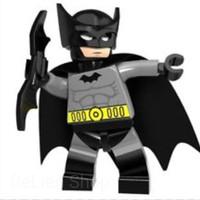 619 - 1st COMIC BATMAN lego bootleg kw minifigure PG370 in new sealed
