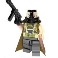 628 - BANE with LEATHER CAPE lego kw minifigure PG378 in new sealed