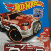 Hot Wheels Rescue Duty Red Edition FS2017