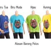 Kaos Bali Oblong Grosir Baju Santai Pria Wanita Atasan Barong Bali