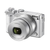 Nikon 1 J5 Kit 10-30mm VR PD-Zoom Kamera Mirrorless - White Free