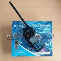 HT ICOM IC-M24 VHF Marine Harga Termurah Bergaransi Resmi Ready Stock