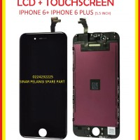 LCD DAN TOUCHSCREEN LAYAR SENTUH IPHONE 6 PLUS 5.5 INCH BLACK 906578