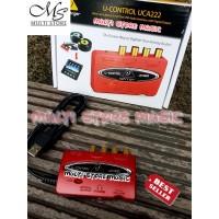 Soundcard / Sound card behringer UCA222