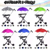 ( NEW ) Stroller anak Micro Trike Portable ( PAYUNG )