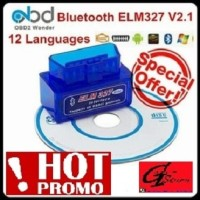 ELM327 Super Mini OBD OBD2 V2.1 Bluetooth Car Scanner Alat Scan Mobil