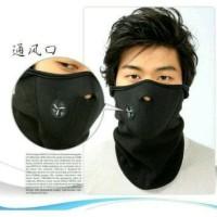 Masker Elastis Dengan Penyaring Udara - Panjang dari Leher Sampai