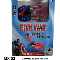 MSM Mainan Anak RC Mobil Remot Wall Climber Civil War MX-03