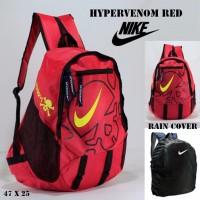 Tas ransel nike hypervenom red free rain cover