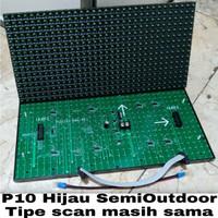 LED Module P10 Hijau Semi Outdoor