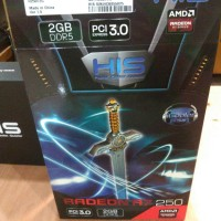 HIS RADEON R7 250 iCooler Boost Clock 2GB GDDR5
