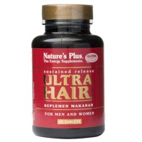 Nature Plus Ultra Hair for Men And Women 60 Tablets Murah