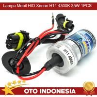 OTO Lampu Mobil HID Xenon H11 4300K 35W 1PCS