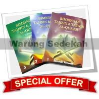 Paket Buku Tahsin UTSMANI (1, 2, 3) Dewasa [Belajar Membaca Al-Qur'an]