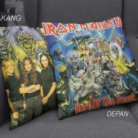 Custom Sarung Bantal-IRON MAIDEN - BEST OF THE BEASTS 03-PremiumCanvas