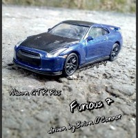Diecast Fast Furious Custom Nissan GT-R R35 (Brian-Loose)