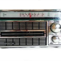 RADIO PORTABLE INTERNATIONAL JADUL 3 BAND FM-AM-SW AC/DC -4250 ANTIK