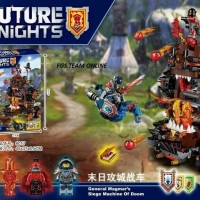 BEST SELLER LEGO DECOOL 8017 NEXO KNIGHTS ISI 518 PCS