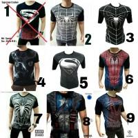 MURAH ! Baju Kaos cowok distro captain america civil war superhero