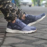 sepatu casual reebok furylite refine navy original asli murah