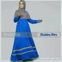 Gamis Murah / Dress hijab : New Syakira Lavender MURAH