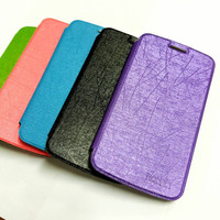 Flipcover Samsung A8  J1  E5 ROKER ORI Leather  Sarung HP T2909