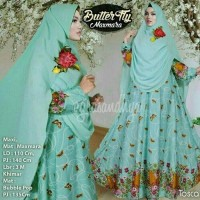 Butterfly maxmara butterfly gamis syari hijab baju butik agr T2909