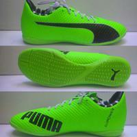 Sepatu Futsal Puma Evopower Hijau Stabilo list Hitam Grade Ori
