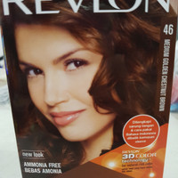 REVLON Colorsilk Beautiful Color - Medium Golden Chestnut Brown no.46